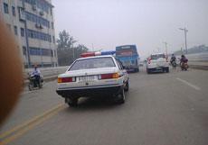 史上最凑巧的警察车牌