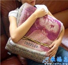 和女朋友吵架的时候,把这个抱枕送给她,她马上就安静下来了……