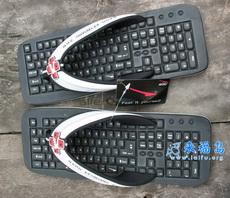 Sandalias exclusivas para los programadores.