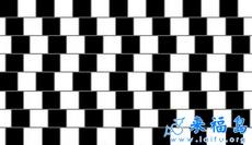 这些横线都是平行的你能看出来吗?