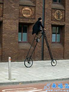 国外的自行车一直都很神奇