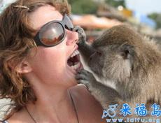 来张嘴,让我检查下牙齿!