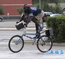 带感的自行车