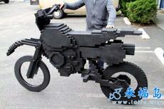 乐高摩托车