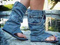 牛仔裤的改装,太有创意了