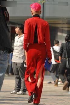 这才叫时尚,虽然也可以说是非主流