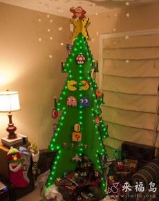 让你感觉仿佛回到几十年前的圣诞树