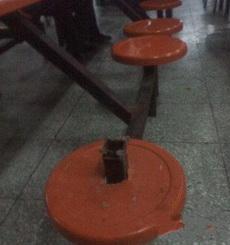 Ten cuidado con la silla