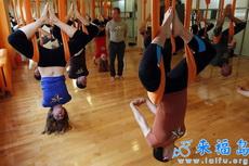 國外都是這么練瑜伽的