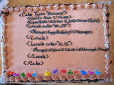 程序员的蛋糕,这时候还编程呢