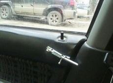 车子里的锁,土爆了