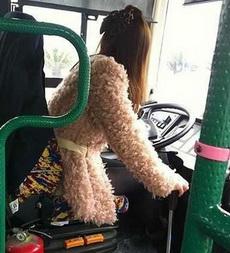 霸气女公交驾驶员,一代潮女