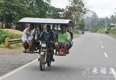 史上最牛逼的摩托车超载