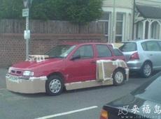 哪有这样改装车的啊