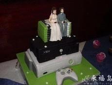 游戏迷的结婚蛋糕
