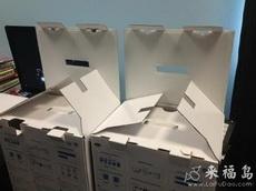 紙箱的表情看起來有點敷衍