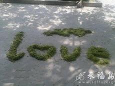 在公园看到的,公园打扫卫生的大爷好浪漫啊