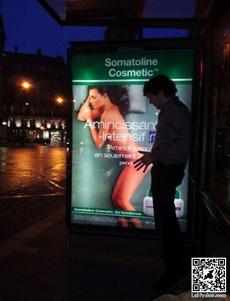 广告上的美女总是容易被调戏