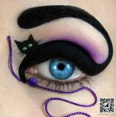 Awesome eye make up…