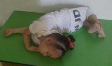 原来练瑜伽也会遗传