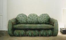 这沙发确定能坐人吗?