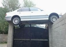 开车技术绝对是一绝
