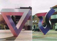 它們是同一個雕塑,只是不同角度,你信嗎?