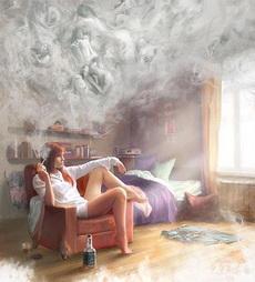 抽烟的最高境界