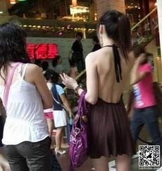 这种时候就看出衣服质量的重要性了,万一那根绳子断了!