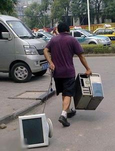 大哥,这电脑是不是坏了呢