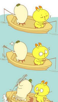 游泳图片卡通搞笑图片
