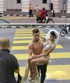 这才是真正的裸婚好么!