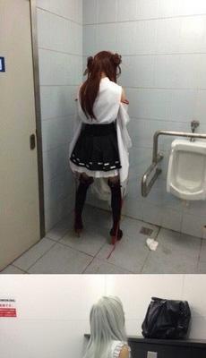 漫展的洗手间是个好地方