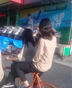 原来自行车是这样骑的
