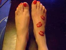 當愛情來的時候,腳趾頭都是香噴噴的
