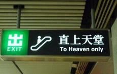 这扶梯是几个意思