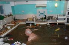 厨房被淹,我还可以做泳池