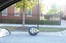当你被锁了车又不想交罚款的时候