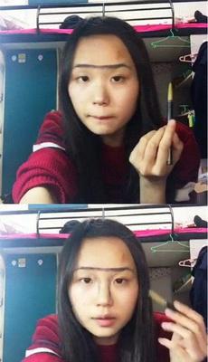 妹子教你化妆,不能我一个人瞎
