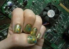 女程序猿大概会喜欢的一款指甲油