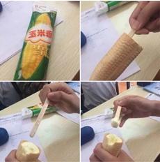 原来这才是玉米雪糕的正确吃法