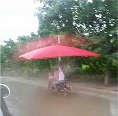 自从有了这把伞,再也不怕下雨了!