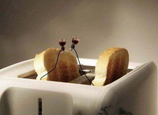 面包机也寻浪漫!