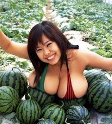 好多、好大的西瓜