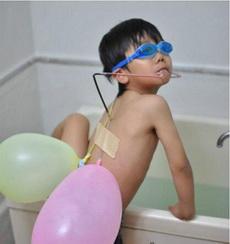 熊孩子的潜水装备