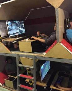 怎样把宿舍改造为网吧。