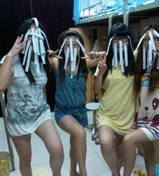 宿舍里的4个女鬼妹子