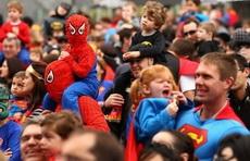 超人、蜘蛛侠、蝙蝠侠