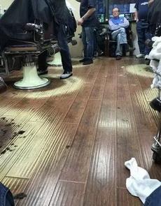 这是理发师的光环