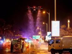 迪拜街頭是怎么消毒的